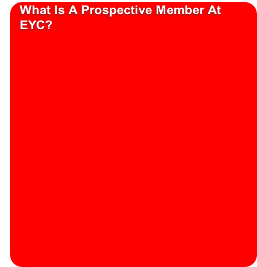What Is A Prospective Member At