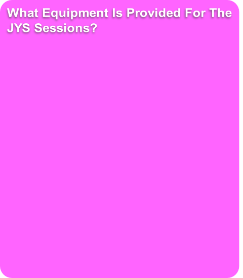 What Equipment Is Provided For The 